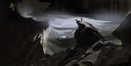 Cliffs painting2