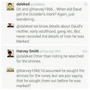 Daud marked tweet