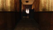 Hound pits hallway