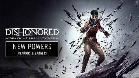 Dishonored Death of the Outsider Billie's Assassin Arsenal
