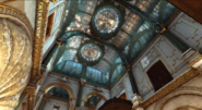 The Boyle Mansion's lavish interior.