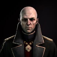Hiram Burrows face render