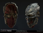 Render of Corvo's mask