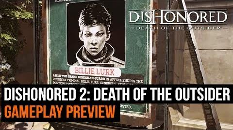 Dishonored 2 Death of the Outsider gameplay preview