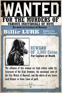 Wanted Billie Lurk