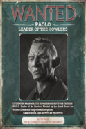Paolo Wanted Poster