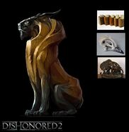 Dishonored 2 sculptures2