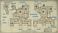 ARAMIS STILTON'S MANSION MAP