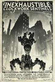 Clockwork Sentinels Poster