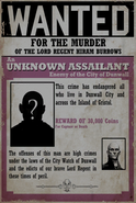 Unknown Wanted Poster Regent