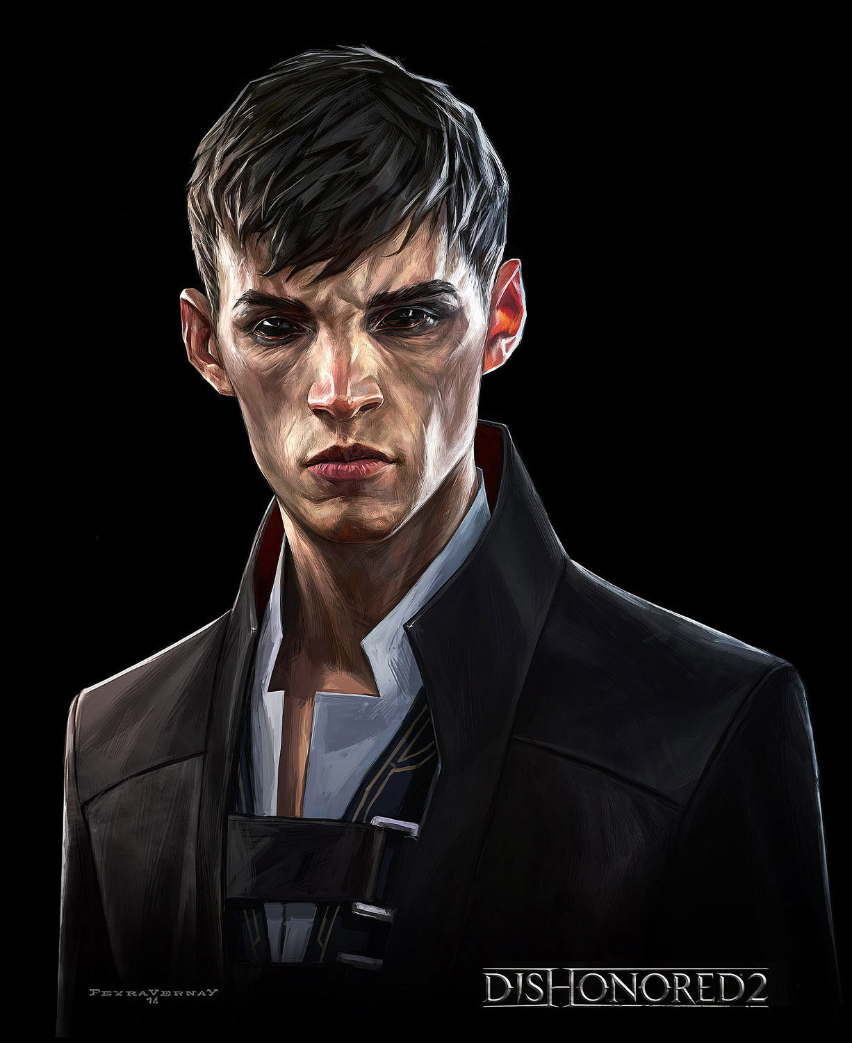 Cedric Peyravernay Dishonored2 Outsider