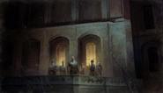 Grand Serkonan Guard On Balcony