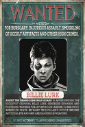 Wanted Billie 01
