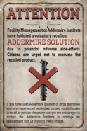 Addemire Solution Recall