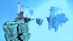 Void islands