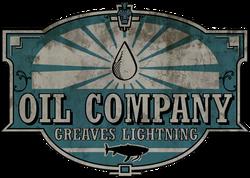 Greaves Lightning Oil Logo