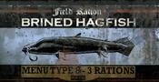 Brined hagfish ad