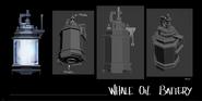 Whale oil tank concept