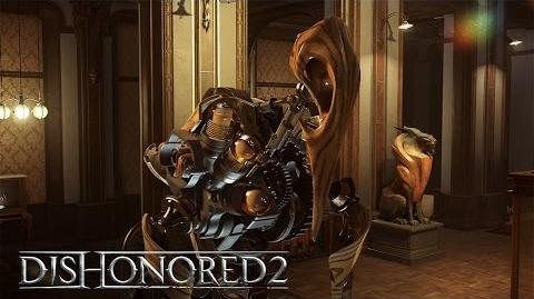 Dishonored 2 –Clockwork Mansion Gameplay Trailer (High Chaos)