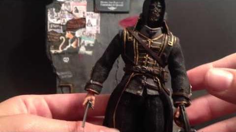 Video Custom Action Figure Review Corvo Attano And