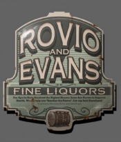 Rovio and Evans