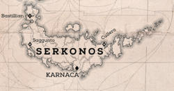 Serkonos on D2 map