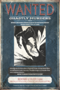 Ghastly Murders Wanted Poster