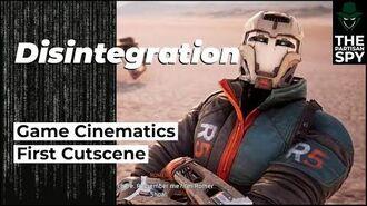 First Game Cinematic Cutscene Disintegration Lore