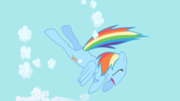 180px-Rainbow Dash begins to clear the sky S1E01