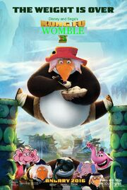 Kung Fu Womble 3 Poster