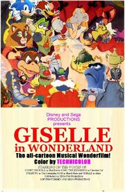 Disney and Sega's Giselle in Wonderland