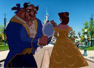Belle and Beast Goes to Disneyland Paris Pictures 01