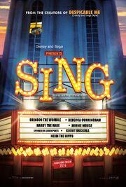 Sing (Disney and Sega Animal Style) Poster