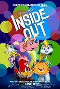 Inside Out (Disney and Sega Style) Poster