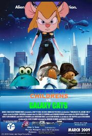 Childrens vs. Galaxy Cats Poster