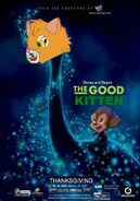 The Good Kitten (Disney and Sega Style) Poster