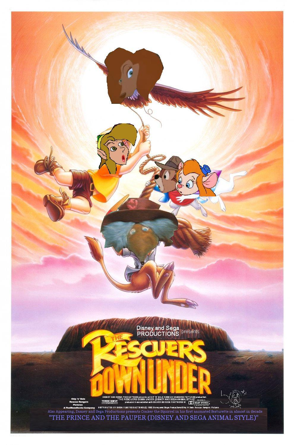 The Rescuers Down Under Disney And Sega Animal Style