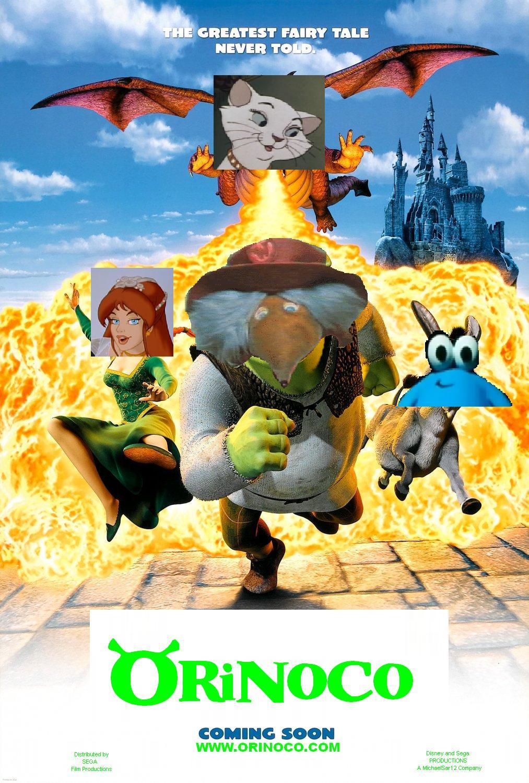 Orinoco Shrek Disney And Sega Wikia Fandom Powered