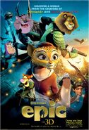 Epic (Disney and Sega Style) Poster