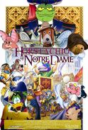 The Horstachio of Notre Dame Poster
