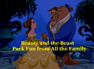 Belle and Beast goes to Disneyland Closing