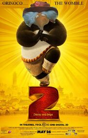 Kung Fu Womble 2 Poster
