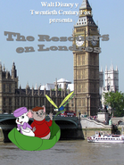 The Rescuers in London Poster (Latin America)