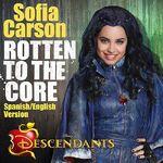 Sofia Carson Rotten To The Core Spanish English Version