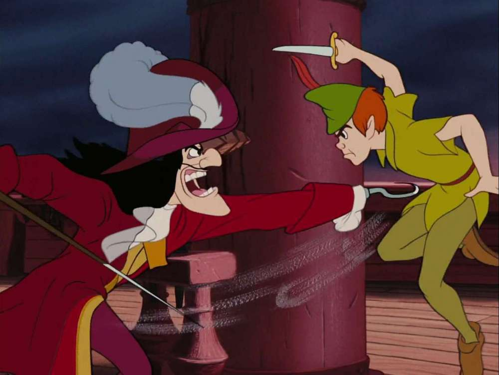 Peter Pan Panscreencap Battling Captain Hook