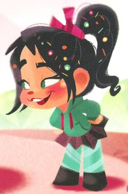 Vanellope in One Sweet Race
