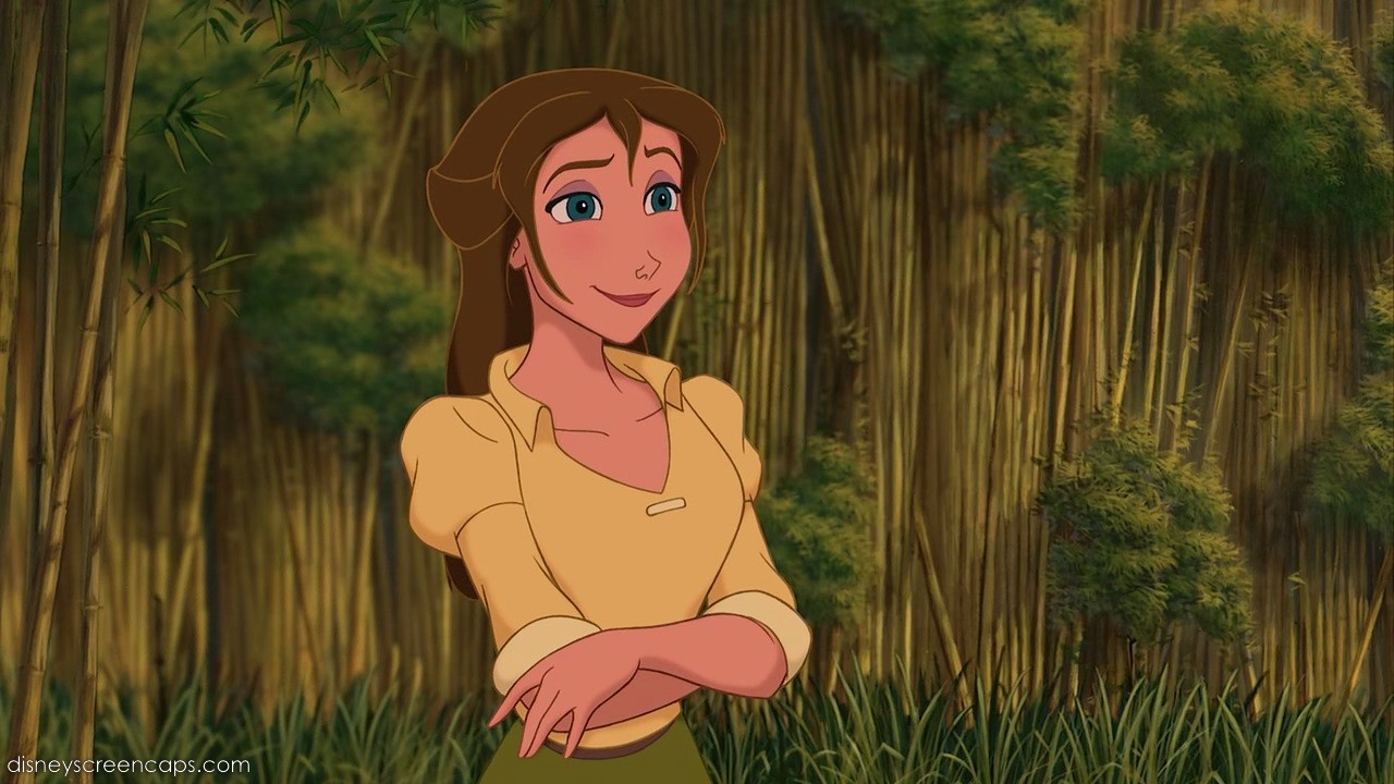 Jane from tarzan loses skirt pics 98