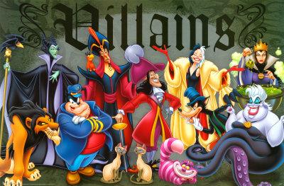 List Of Disney Villains Disney Fan Fiction Wiki Fandom Powered
