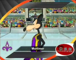 Mortimer in Disney's Basketball