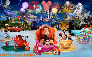 Wreck-It Ralph Disneyland Adventures